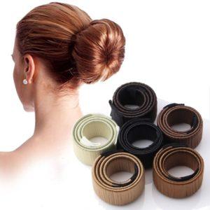 Outil à chignon pour enrouler les cheveux