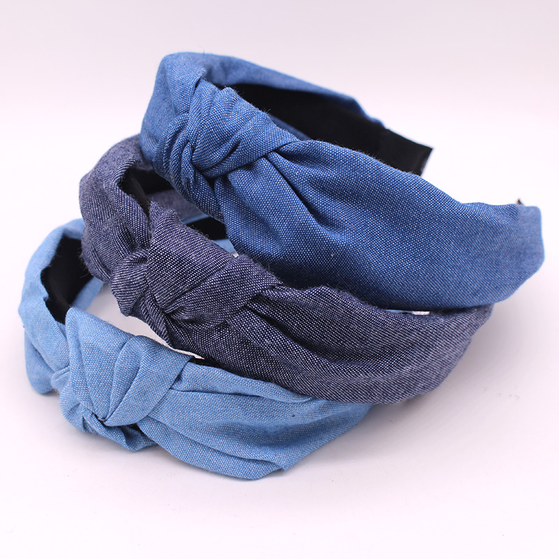 Denim Hair Band for Women